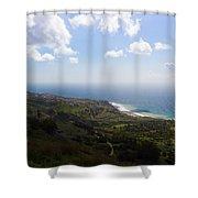 Palos Verdes Peninsula Shower Curtain by Heidi Smith