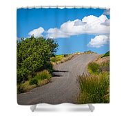 Palouse Country Road Shower Curtain