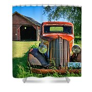 Palouse Dodge Shower Curtain