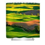 Palouse Fields - June Shower Curtain