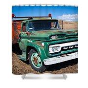 Palouse Gmc Truck Shower Curtain