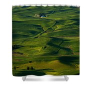 Palouse Green Shower Curtain