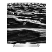 Palouse In Black And White Shower Curtain