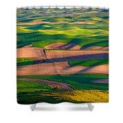 Palouse Ocean Of Wheat Shower Curtain