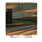 Palouse Sunset Shower Curtain