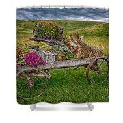 Palouse Welcome Wagon Shower Curtain