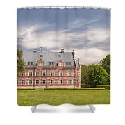 Palsjo Slott And Garden Shower Curtain