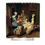 Pamela Tells A Nursery Tale Shower Curtain
