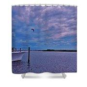 Pamlico Sound Hatteras 6/5 Shower Curtain