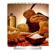 Pampering Shower Curtain