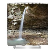 Pam's Grotto Shower Curtain