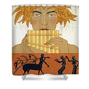 Pan Piper Shower Curtain