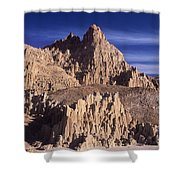 Panaca Sandstone Formations Cathedral Gorge State Park Nevada Shower Curtain