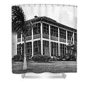 Panama Canal Engineer Shower Curtain