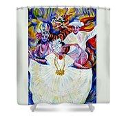 Panama Carnival. Fiesta Shower Curtain