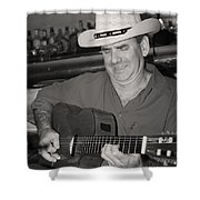 Panama City Blues Shower Curtain