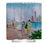 Panama City Panama Shower Curtain