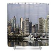 Panama City Skyline Panama Shower Curtain