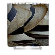 Panama Hats Shower Curtain