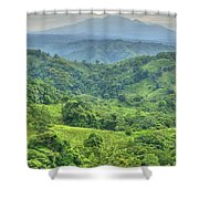 Panama Landscape Shower Curtain