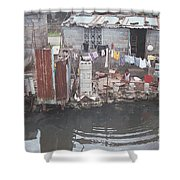 The River, Panana Shower Curtain