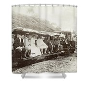 Panama Roosevelt, 1906 Shower Curtain