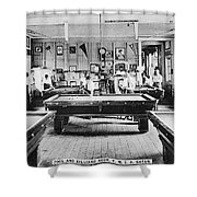 Panama Ymca C1910 Shower Curtain