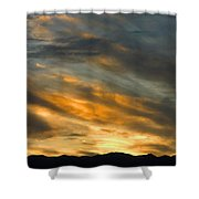 Panamint Sunset Shower Curtain