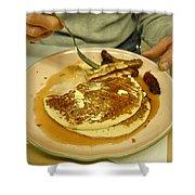 Pancake Breakfast Shower Curtain