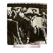 Pancho Villa Ambushed July 20 1923 1923 Dodge Touring Car 1923-2013 Shower Curtain