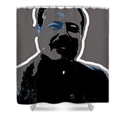 Pancho Villa Portrait Unknown Location Or Date-2013 Shower Curtain