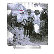 Pancho Villa With Children #1  Durango C. Shower Curtain