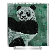 Panda - Monium Shower Curtain