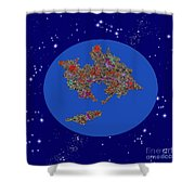 Pangea Ultima Shower Curtain