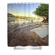 Panglao Port Sunset 4.0 Shower Curtain