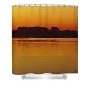 Pano Dawn Aug. 3 2013 Shower Curtain