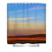 Panorama City Of The Rocks Look Out Mountain Shower Curtain