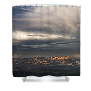 Panorama Clearing Summer Storm Bryce Canyon National Park Utah Shower Curtain