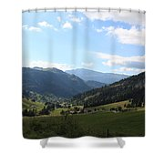 Panorama Shower Curtain