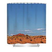 Panorama Hoodoos Goblin Valley State Park Utah Shower Curtain