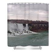 Panorama - Niagara Falls Shower Curtain