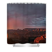 Panorama North Rim Grand Canyon National Park Arizona Shower Curtain