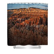 Panorama Of Bryce Canyon Amphitheater Shower Curtain