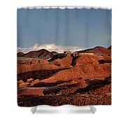 Panorama Of Goblin Valley State Park Utah Shower Curtain