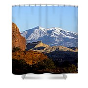 Panorama Point Capitol Reef National Park Utah Shower Curtain