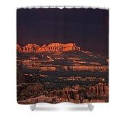 Panorama Rainbow Bryce Canyon National Park Utah Shower Curtain