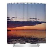 Panorama - Toronto Sunrise In June  Shower Curtain