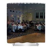 Panorama Wedding Shower Curtain