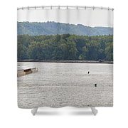 Panoramic Barge Shower Curtain