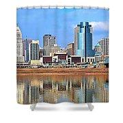 Panoramic Cincinnati Shower Curtain